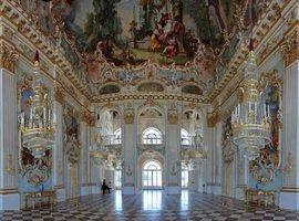 Праздничный Каменный зал Нимфенбурга