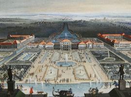 Ведуты в галерее северного флигеля Нимфенбургского дворца