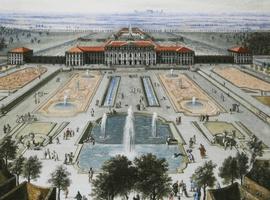 Ведуты в галерее южного флигеля Нимфенбургского дворца