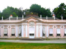Садовый павильон Амалиенбург в Нимфенбургском парке