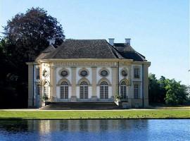 Садовый павильон Баденбург в Нимфенбургском парке