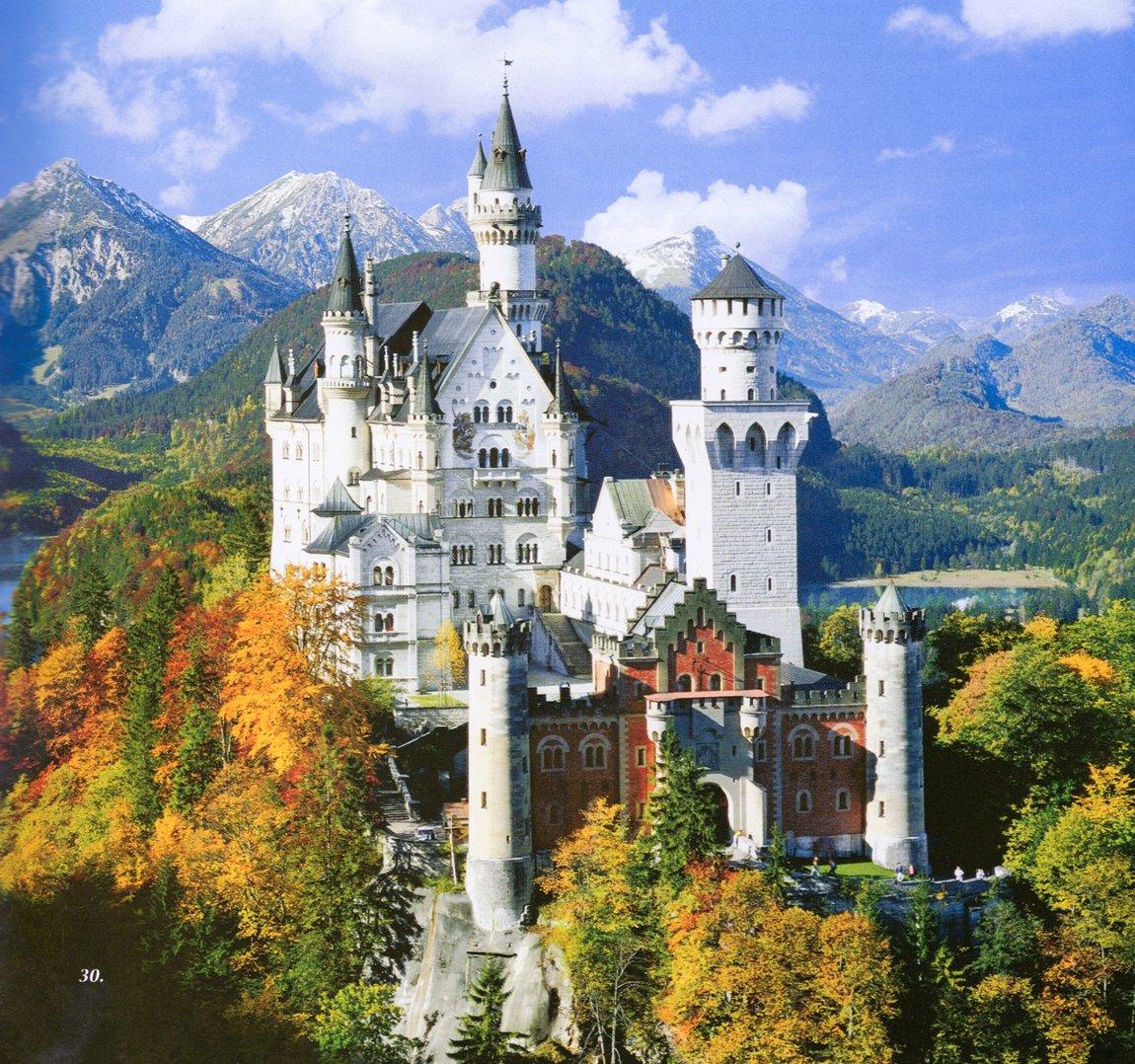 Экскурсия в альпийский замок Нойшванштайн